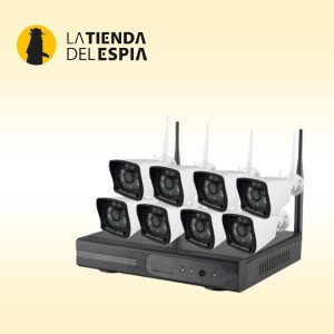 Kit de 8 cámaras wifi